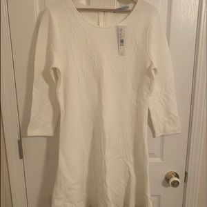Antonio Melani Knit Ivory Dress NWT